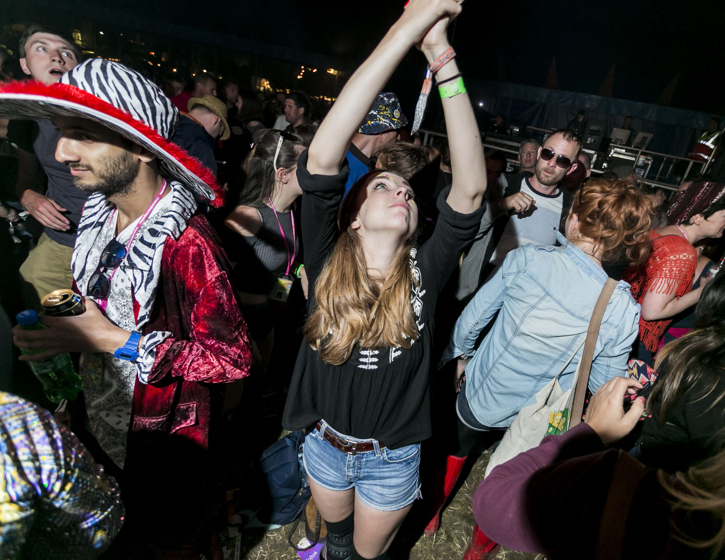 Buttoned Down Disco at Glastonbury
