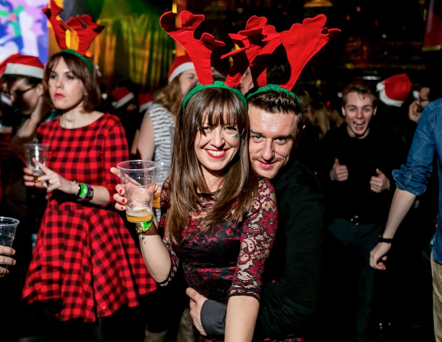 Buttoned Down Disco Christmas Party KOKO London