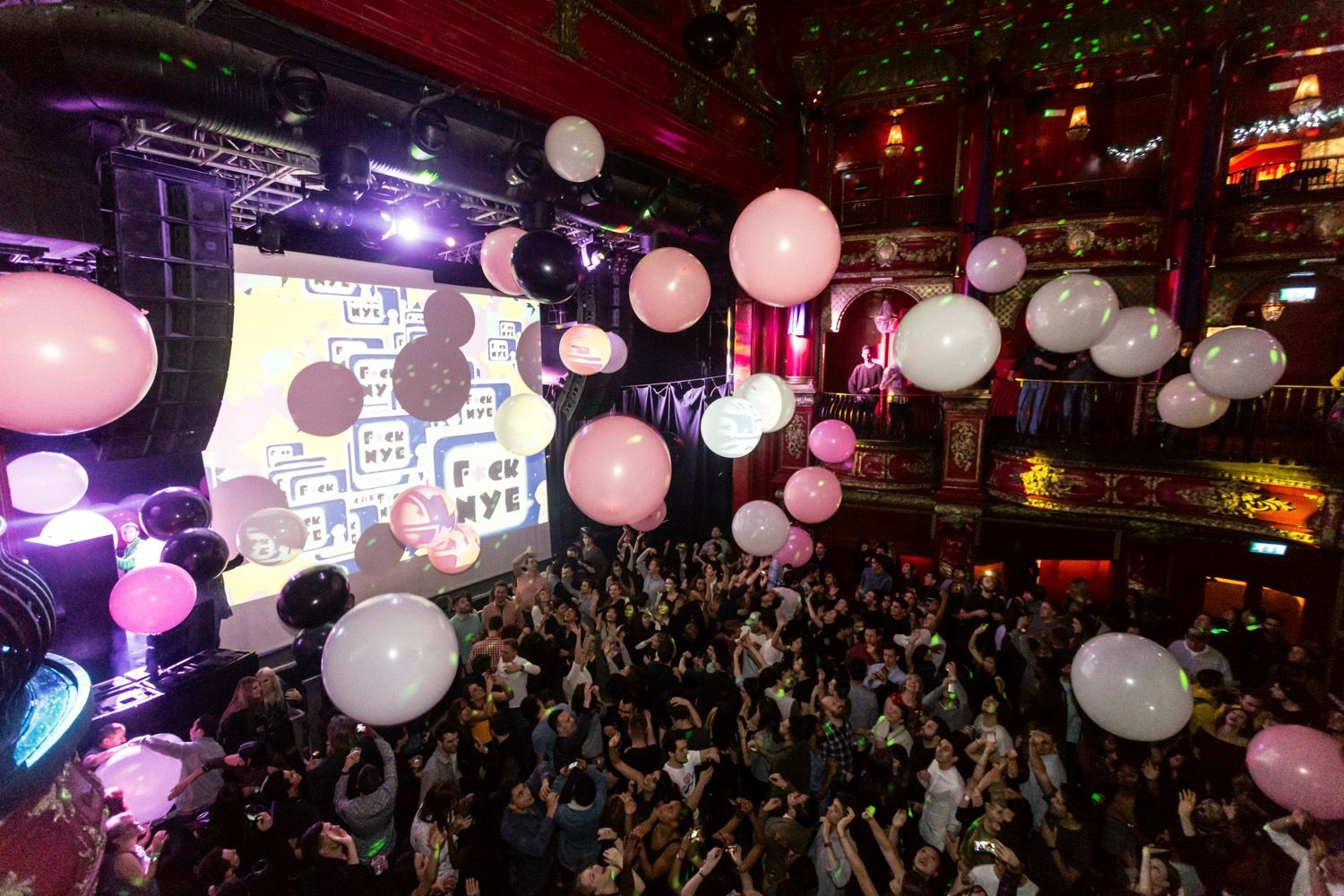 Buttoned Down Disco's FNYE Party KOKO Camden London