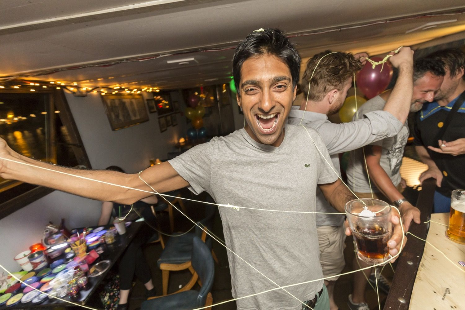 Buttoned Down Disco's Midsummer's Eve Boat Party London