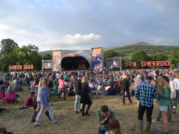 Buttoned Down Disco at Green Man Festival
